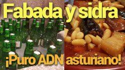 Fabada asturiana y sidra