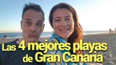 las 4 mejores playas de gran canaria