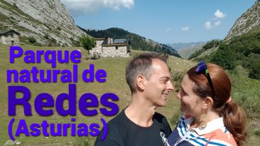 senderismo en el parque natural de redes, asturias