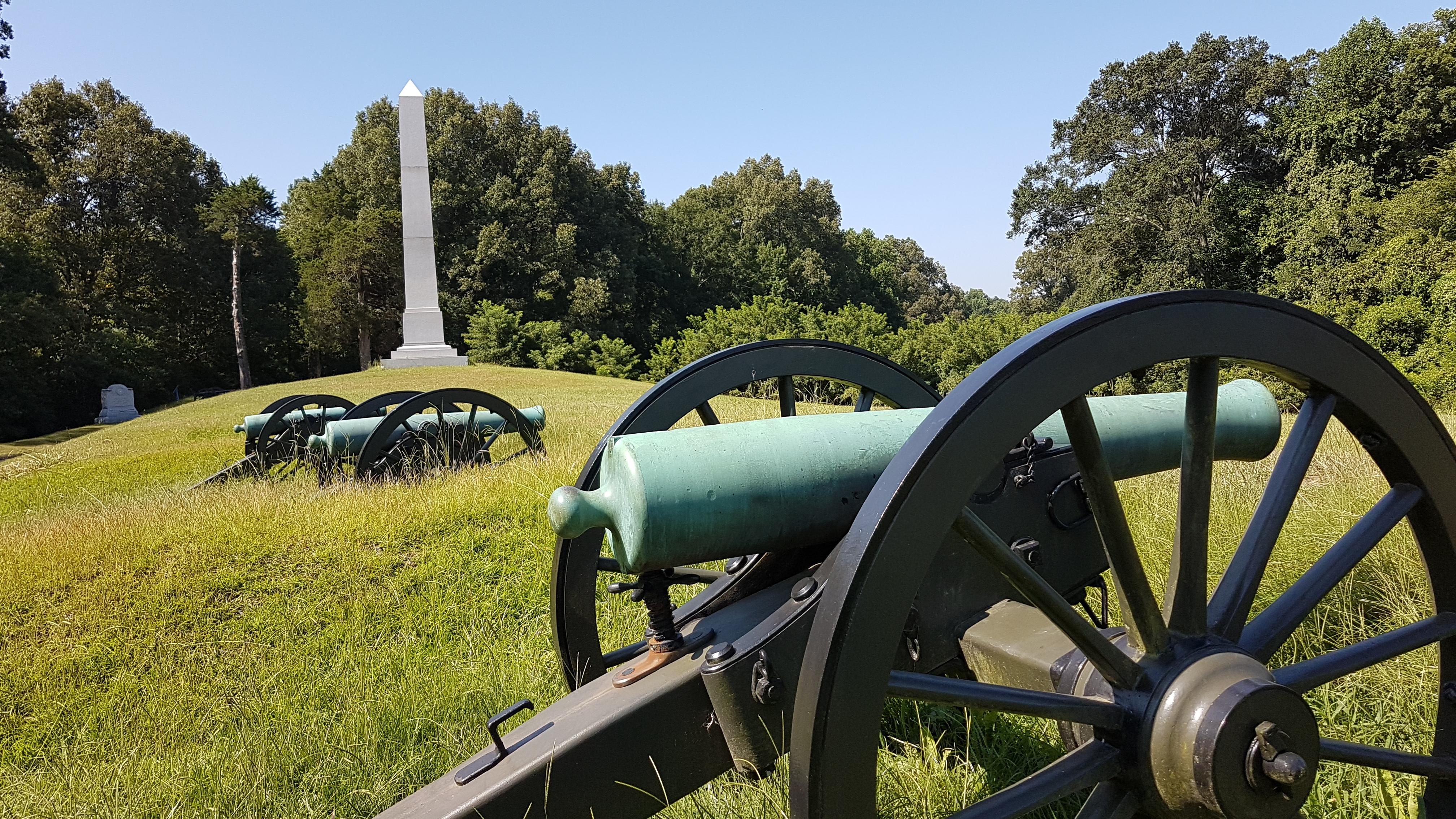 Memorial de la guerra civil en vicksburg