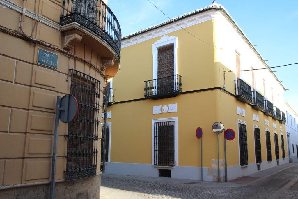 Casas calle monjas, Manzanares