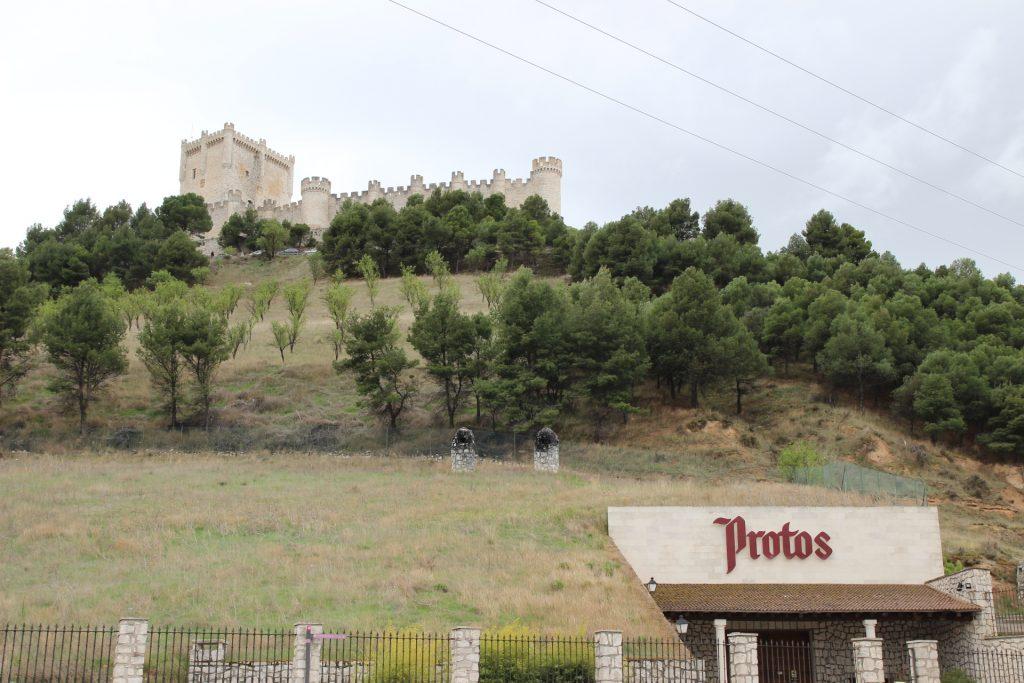 Bodegas Protos en Peñafiel