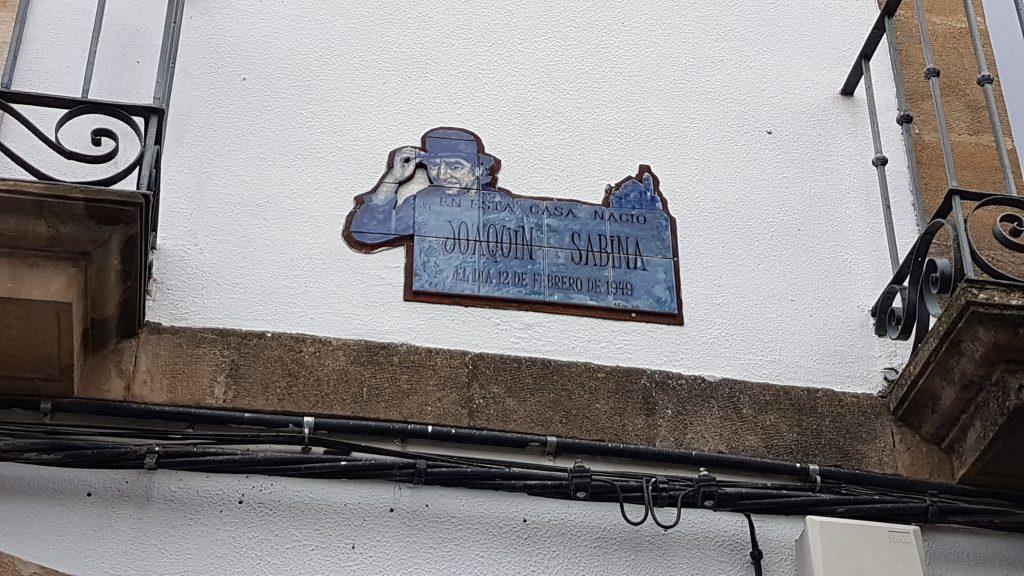 casa de joaquin sabina en Ubeda