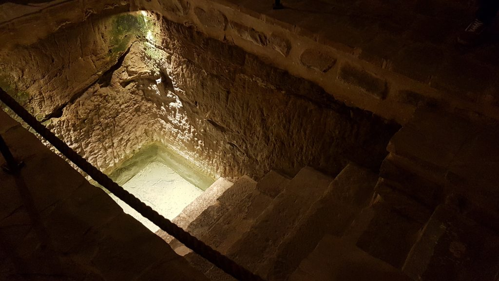 Mikve en la sinagoga del agua en ubeda