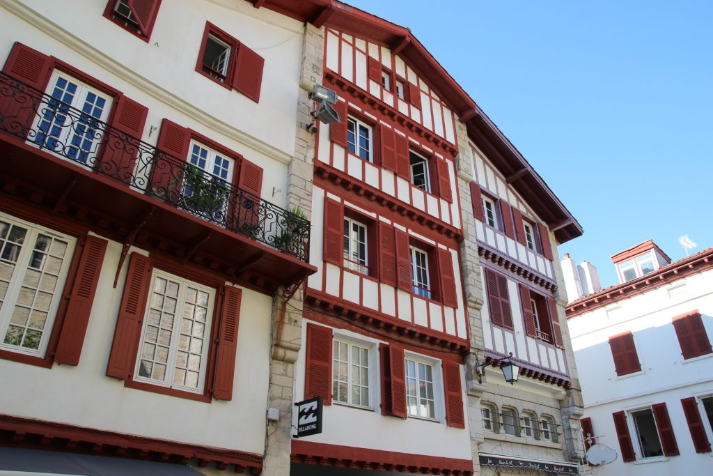 Arquitectura típica del Pais Vasco-francés
