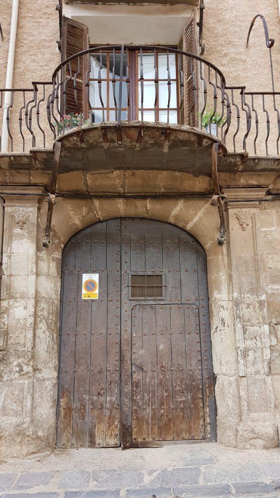 Puerta palacio Daroca