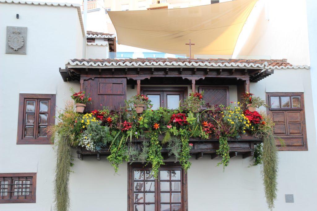 Balcón en Santa Cruz de La Palma