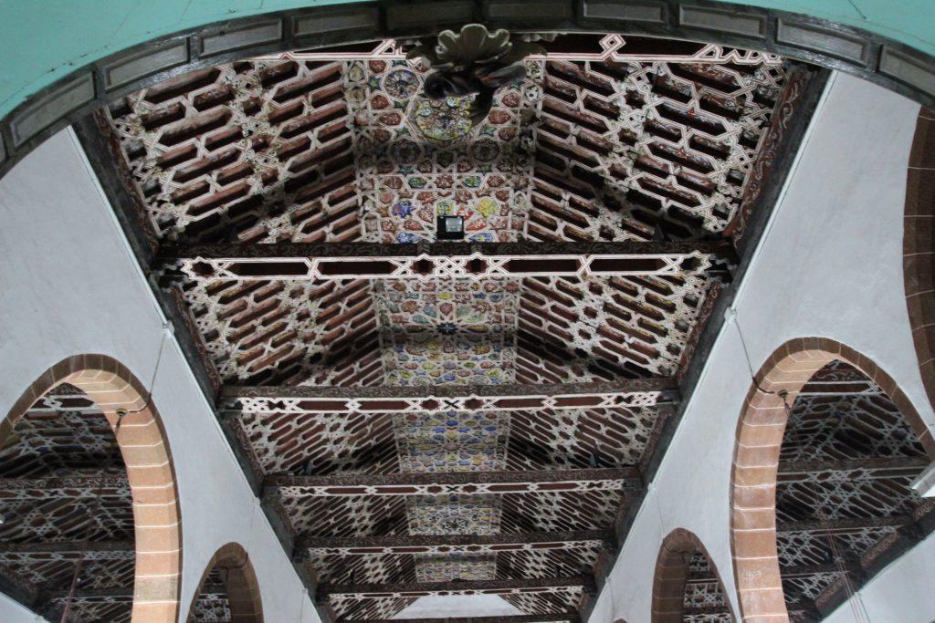 techo iglesia santo domingo, en santa cruz de la palma