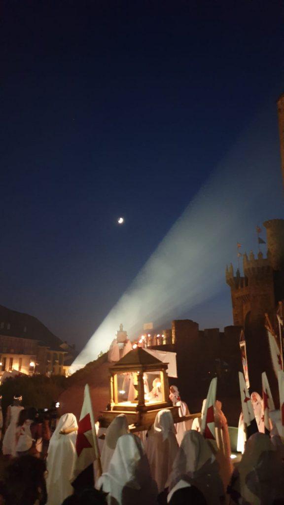 noche templaria de ponferrada