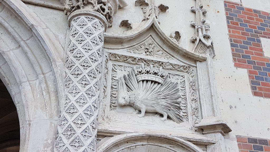Detalle palacio blois