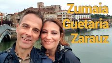 Zumaia, Guetaria y Zarauz