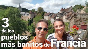 3 de los pueblos más bonitos de Francia