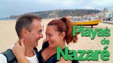 Nazaré playas