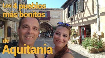 Pueblos bonitos Aquitania